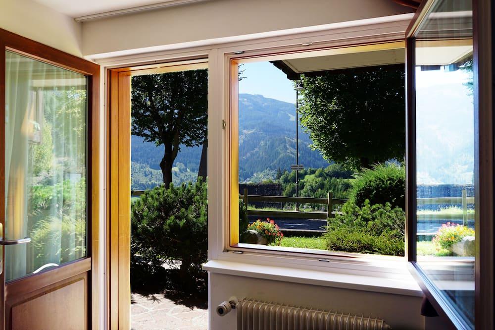 Appartamento panoramico, 1 camera da letto, angolo cottura, vista valle (4 pax South) - Vista dalla camera