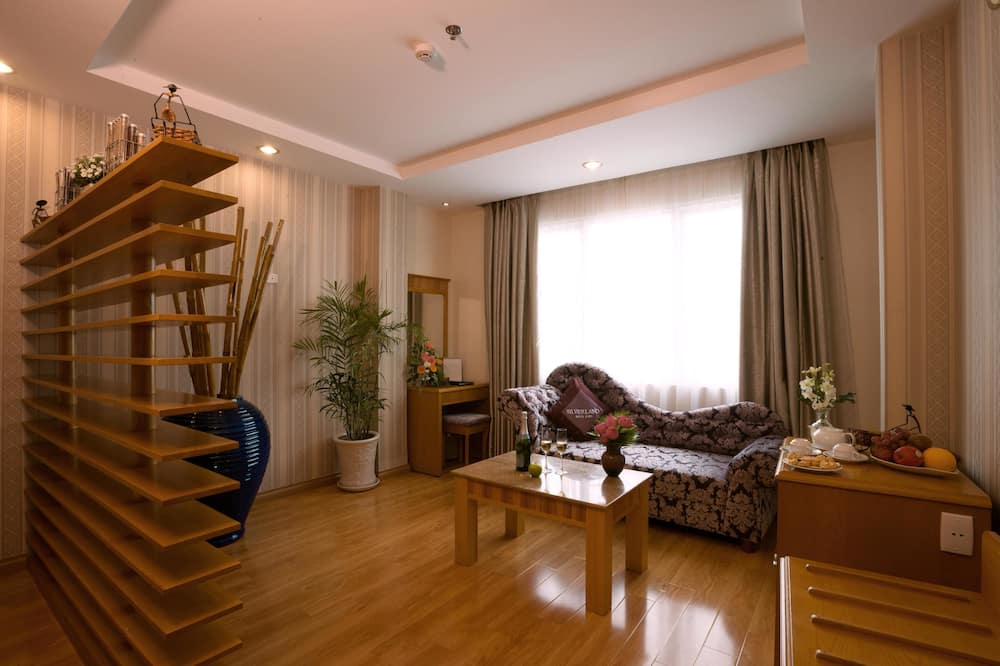 סוויטת סיניור (VIP Room) - אזור מגורים