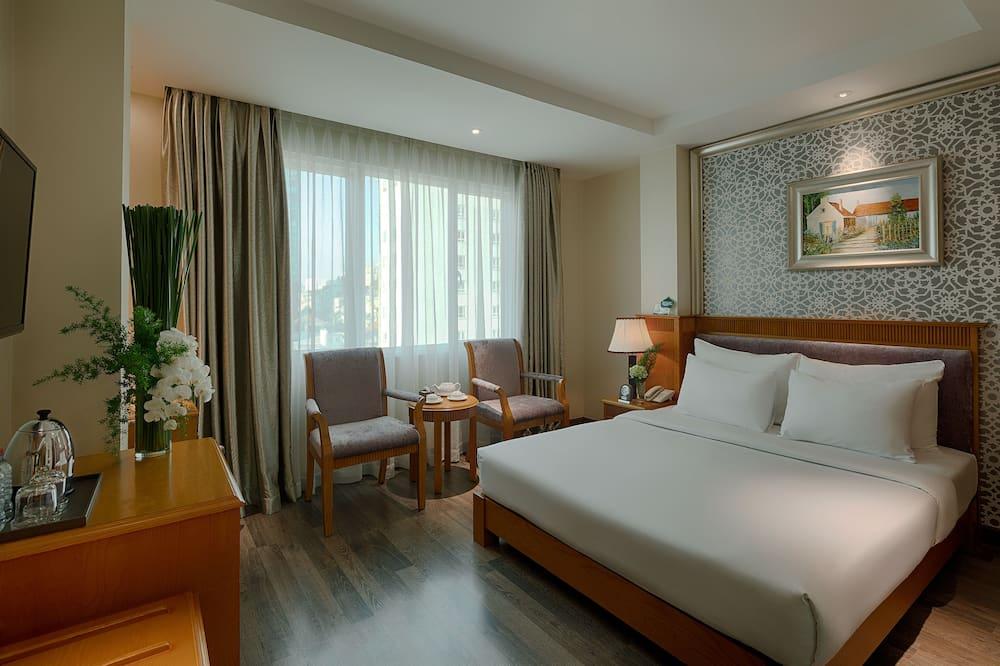 חדר פרימיום, מיטה זוגית או 2 מיטות יחיד - נוף לרחוב