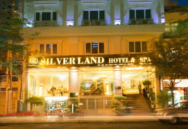 シルバーランド シル ホテル & スパ, ホーチミン, ホテルのフロント - 夕方 / 夜間