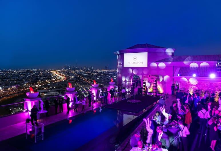 쉐라톤 몰 오브 더 에미레이츠 호텔, 두바이, 두바이, 테라스/파티오