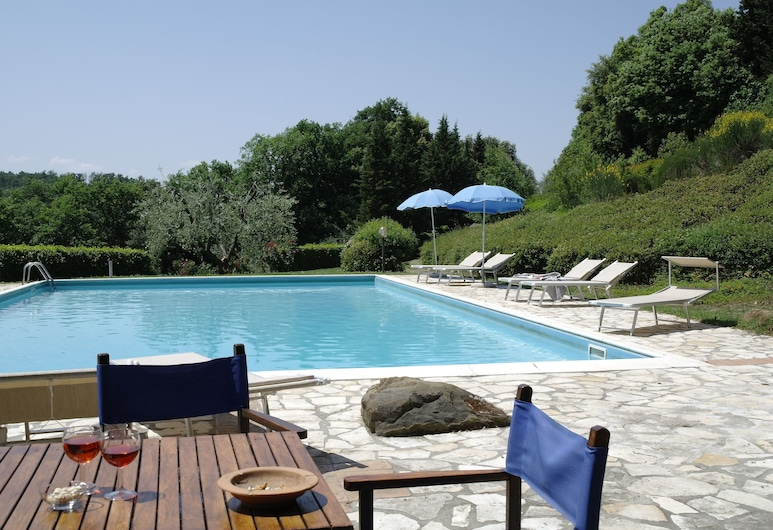 Rodilosso, Montaione, Pool