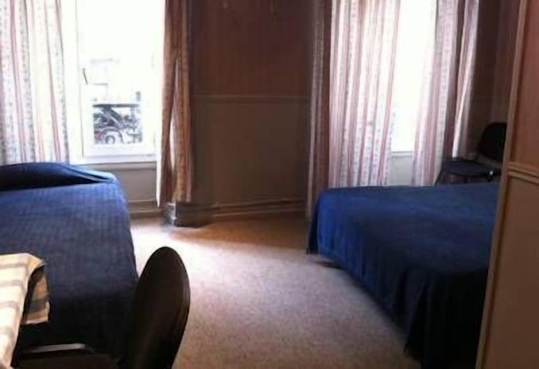 Hotel Des Arts, Paris, Chambre Simple, salle de bains commune, Chambre