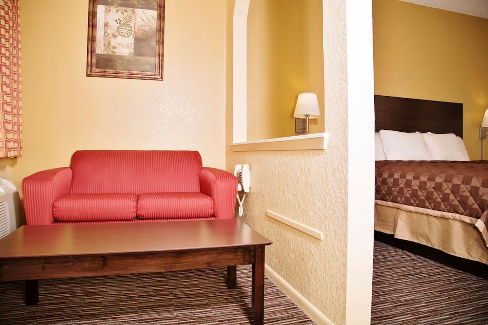 Apartmán, 1 extra veľké dvojlôžko, nefajčiarska izba - Obývacie priestory