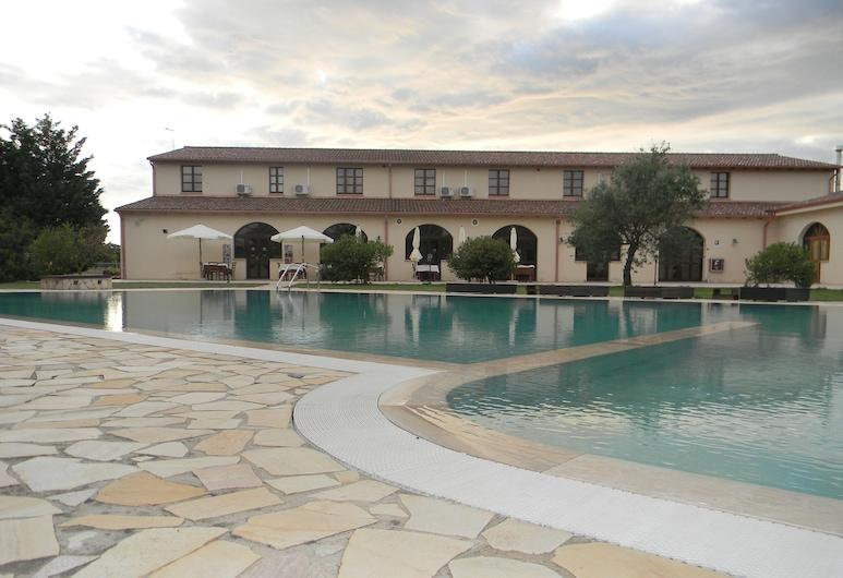 Hotel Sport Village, Iglesias, Hotellin julkisivu
