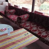 Tent, 2 Bedrooms, Mountainside - Living Area