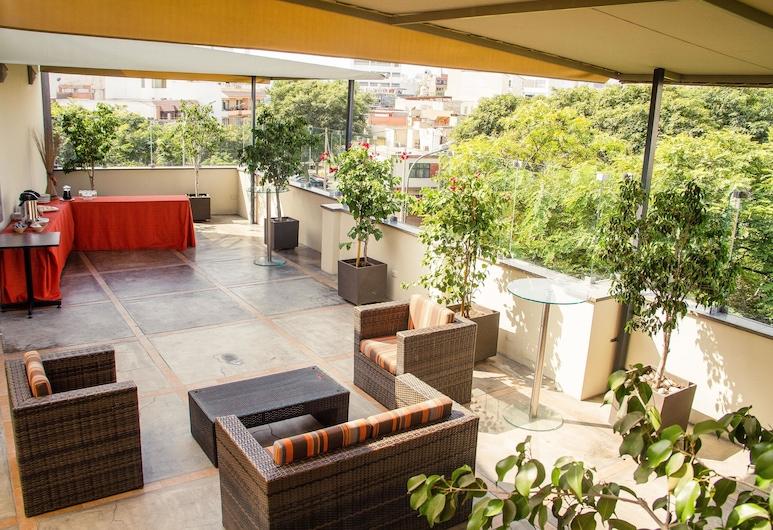 Girasoles Hotel, Lima, Terrass