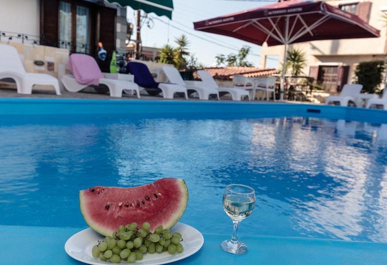 Hotel Yianna, Agistri, Lauko baseinas