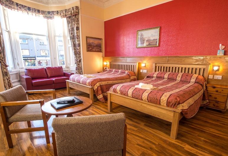 Corstorphine Lodge, Edinburgh, Familie suite, Kamer