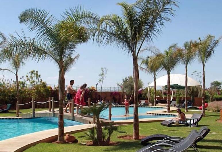 馬拉喀什花園公寓飯店, 馬拉喀什, 日光浴甲板