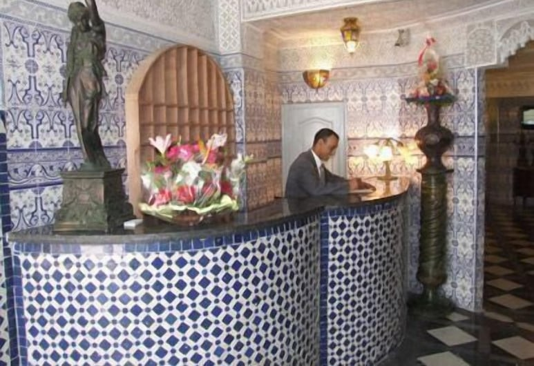 Hotel du Louvre, Casablanca, Vestíbulo