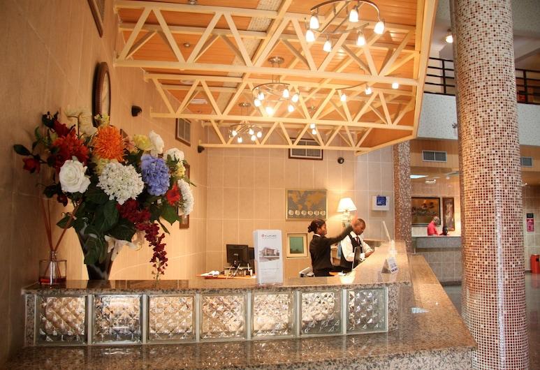 Welcome Centre & Hotels, Lagos, Vastuvõtuala