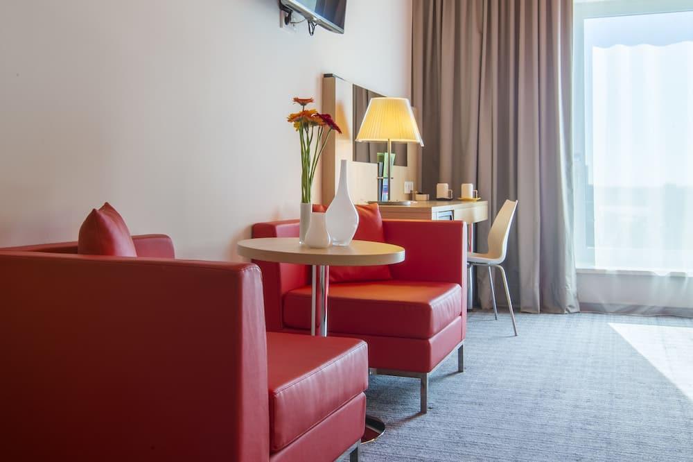 Apartmá, 1 ložnice (1 King) - Obývací prostor