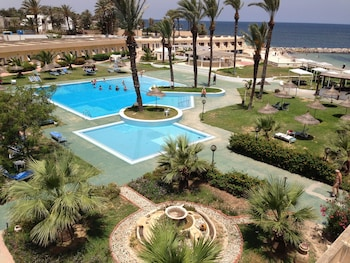 Foto van Hotel Les Palmiers Beach Holiday Village in Monastir