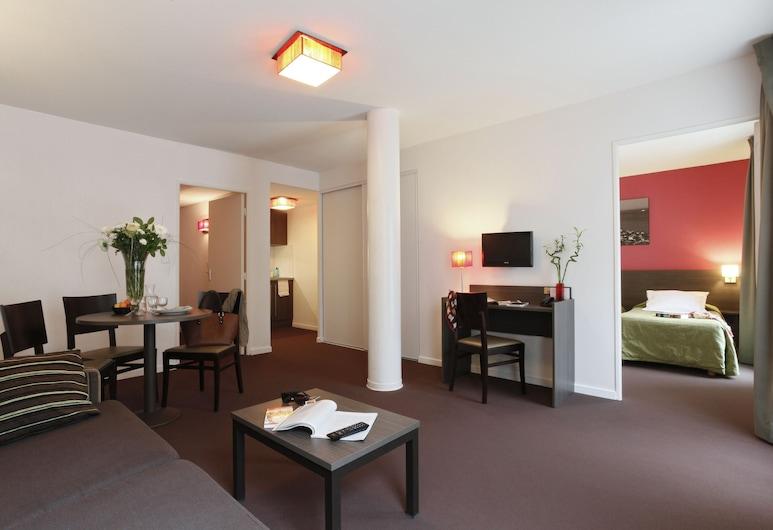 Aparthotel Adagio access Marseille Saint Charles, Marseille, Apartamentai, 1 miegamasis (4 People), Kambarys