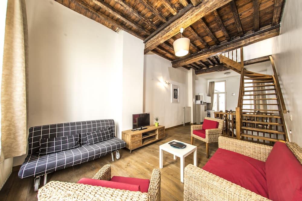 Lejlighed - 2 soveværelser (Triplex - 6 people) - Stue