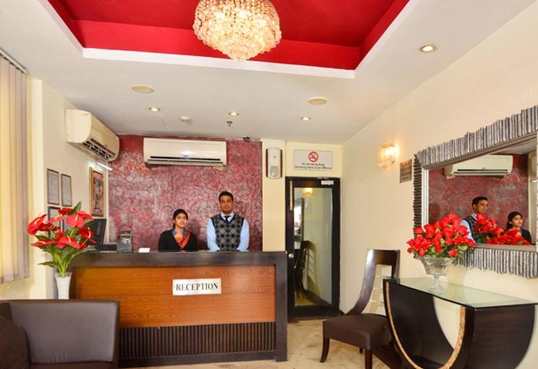 珊蒂宮殿酒店, 新德里, 櫃台