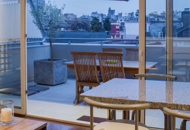 Lastarria Hotel & Aparts, Форт Сантьяго, Улучшенный дуплекс, Терраса/ патио