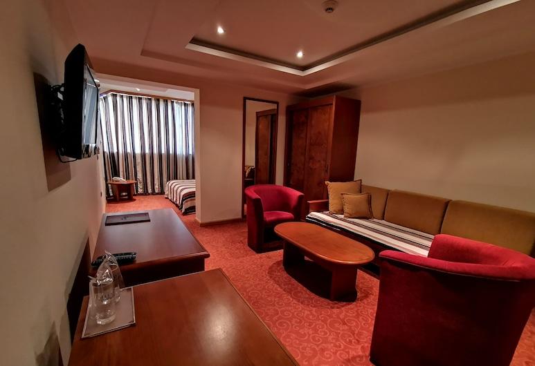 Hotel BaMBiS, Podgorica, Trojlôžková izba typu Deluxe, Hosťovská izba