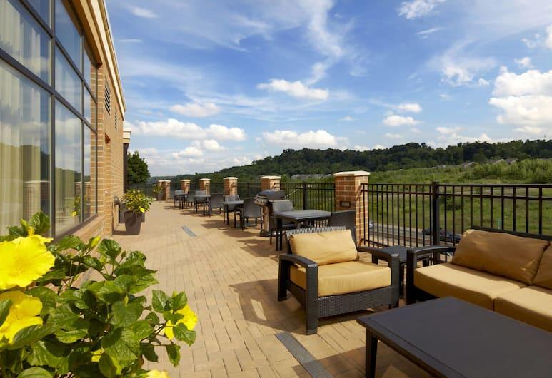 Courtyard Pittsburgh Airport Settlers Ridge, Питсбург, Терраса/ патио