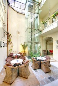 Gambar Hotel Three Storks di Prague