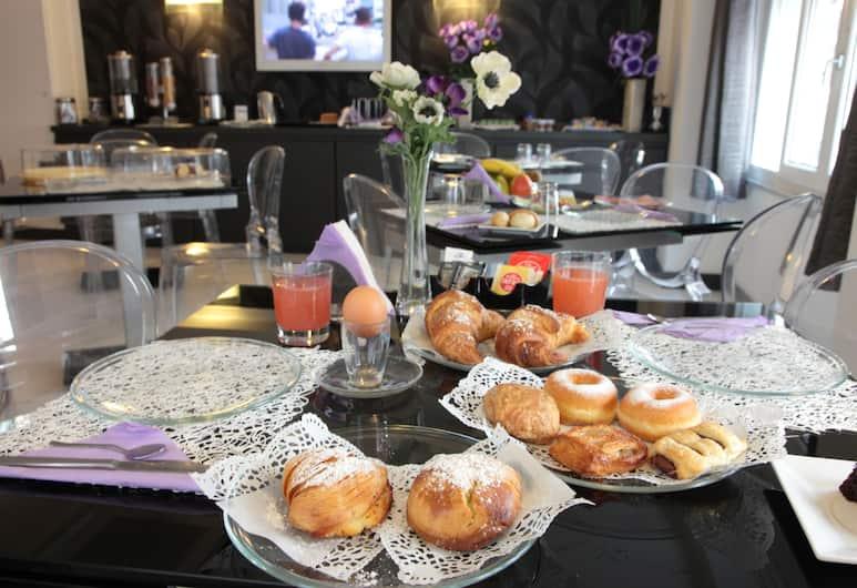 Golden Hotel, Naples, Raňajková miestnosť