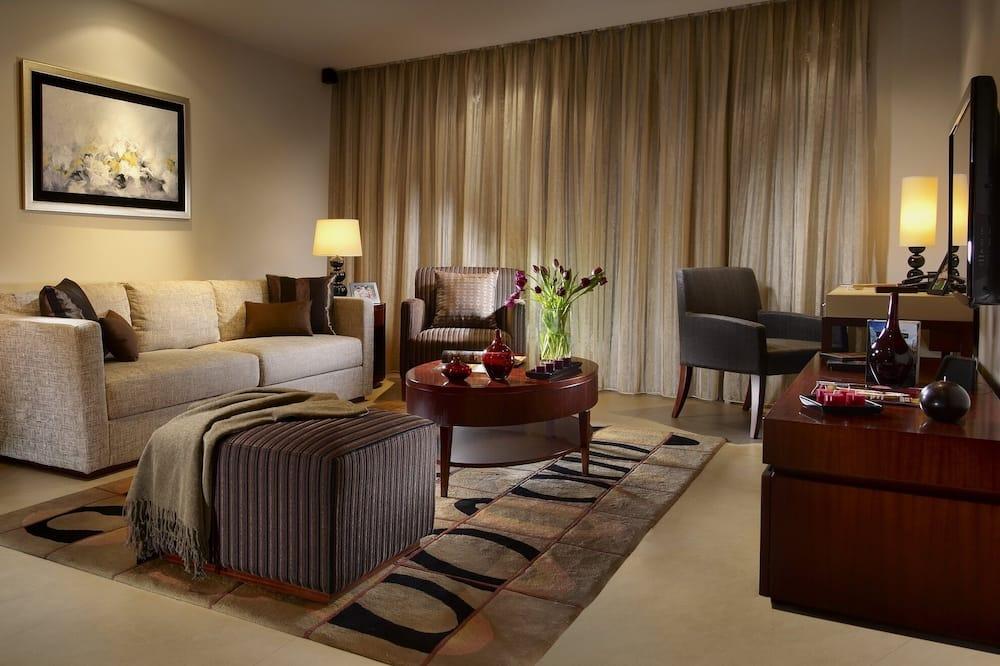 Deluxe szoba, 3 hálószobával - Nappali rész