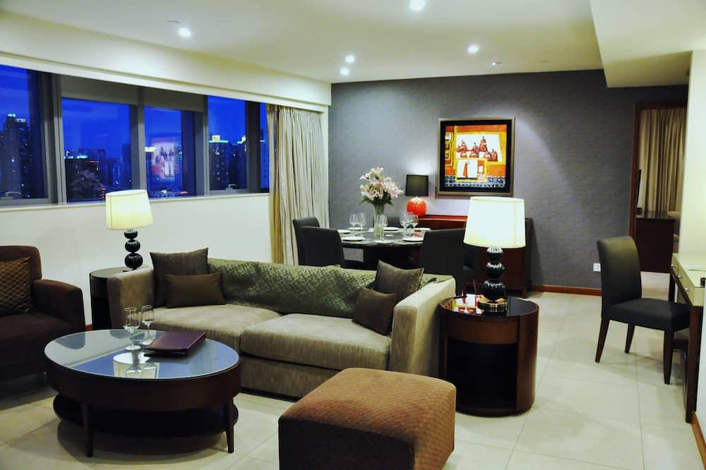 Deluxe szoba, 2 hálószobával - Nappali