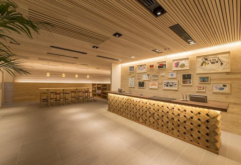 ホテルWBFアートステイ那覇 国際通り, 那覇市, 内部エントランス