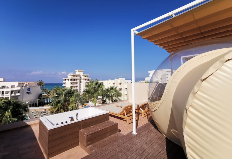 Tent Capi Playa, Πάλμα Ντε Μαγιόρκα, Αίθριο/βεράντα