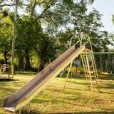Vaikų žaidimų zona lauke