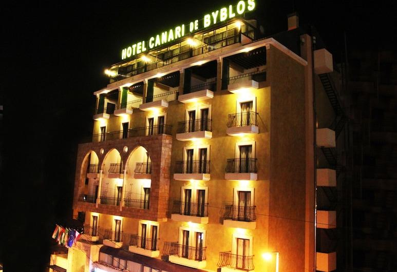 Canari de Byblos, Біблос, Фасад готелю (вечір/ніч)