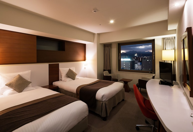 Hotel MyStays Sapporo Station, Sapporo, Deluxe Twin Room, Non Smoking, Guest Room