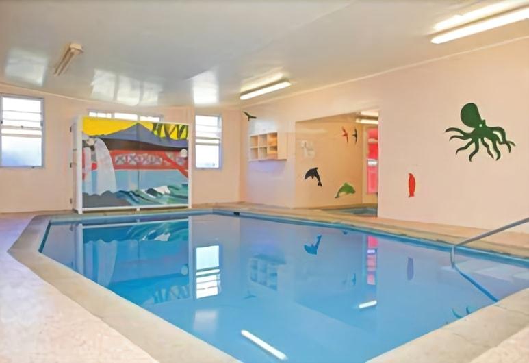 Amber Court Motel, New Plymouth, Krytý bazén