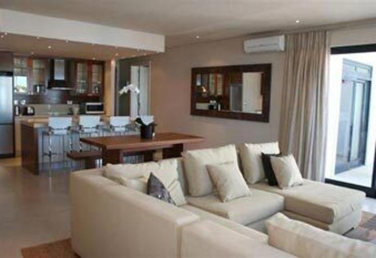 Marine Square Luxury Holiday Suites - Apartments, הרמנוס, סלון