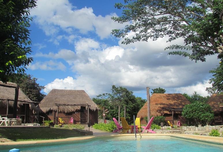 Koox Naluum Eco Hotel, Tecoh, Outdoor Pool