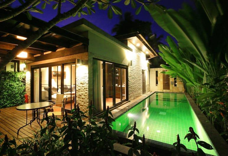 니라마야 빌라 앤 웰니스, 코 야오, Deluxe Villa with Private Pool, 테라스/파티오