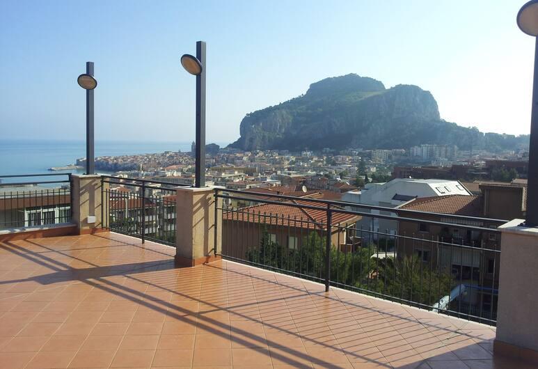Hotel Villa Belvedere, Cefalù, Terrasse/veranda