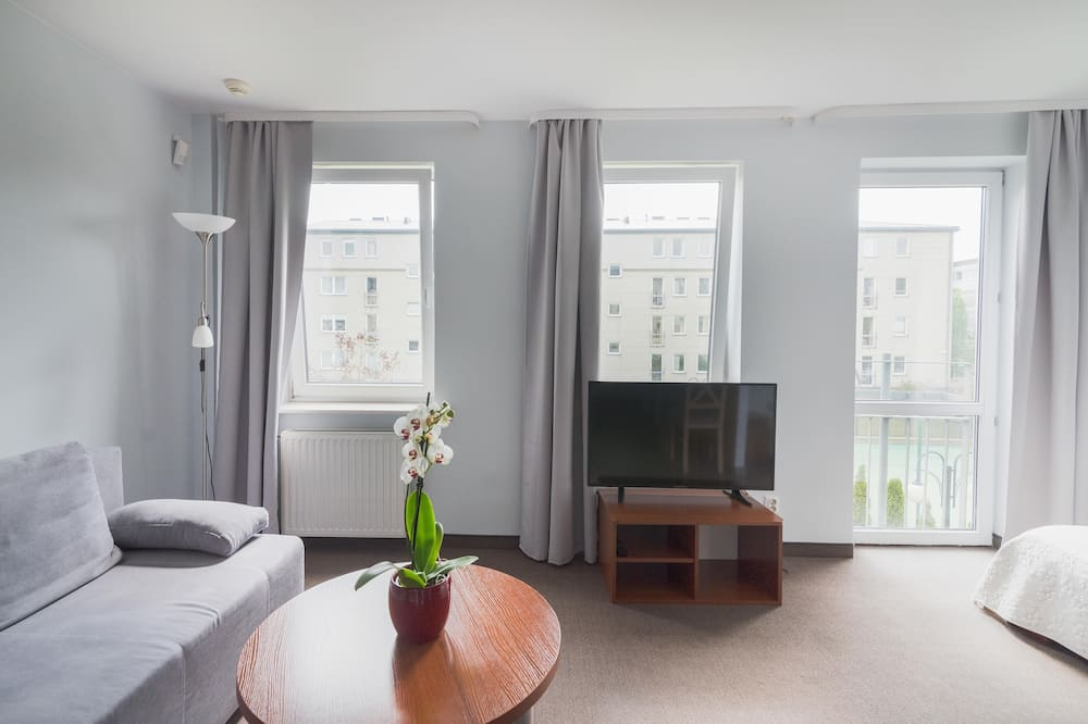 Deluxe Apartment, 1 Double Bed with Sofa bed - In-Room Dining