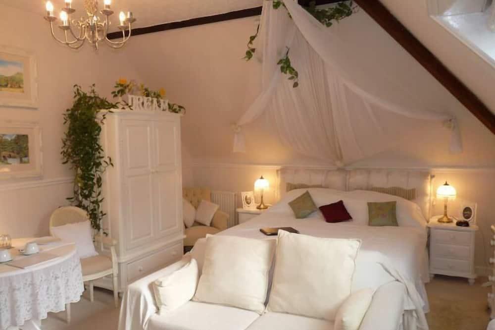 Двухместный номер «люкс» с 1 двуспальной кроватью (Broseley Room) - Зона гостиной
