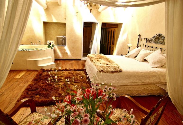 Andean Wings Boutique Hotel, Cusco, Apartmá typu Premium, dvojlůžko (200 cm), vířivka, Pokoj
