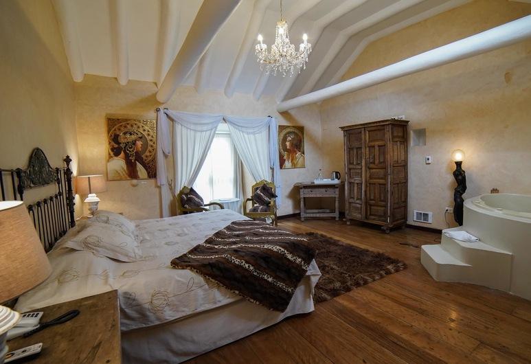 أنديان وينجز بوتيك هوتل, Cusco, جناح بريميم - سرير ملكي - بحوض استحمام بنظام دفع المياه, غرفة نزلاء