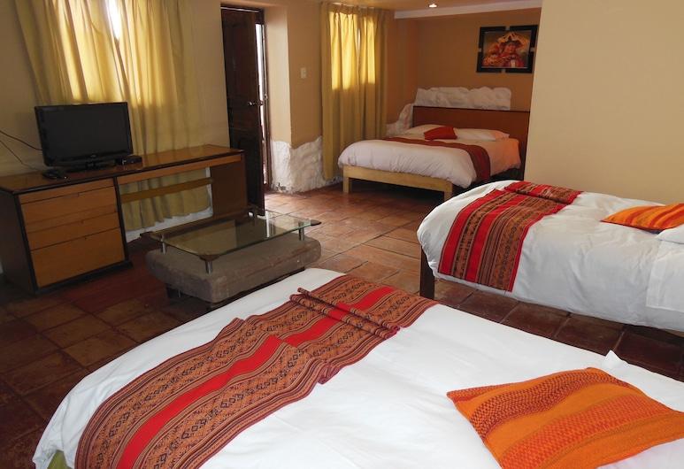 Hostal Illapa Inn, Cusco, Familienzimmer, Zimmer