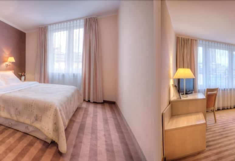 Hotel Apartments Zgoda Warszawa by DeSilva, Varšava, Standarta dzīvokļnumurs, 1 divguļamā karalienes gulta, Viesu numurs