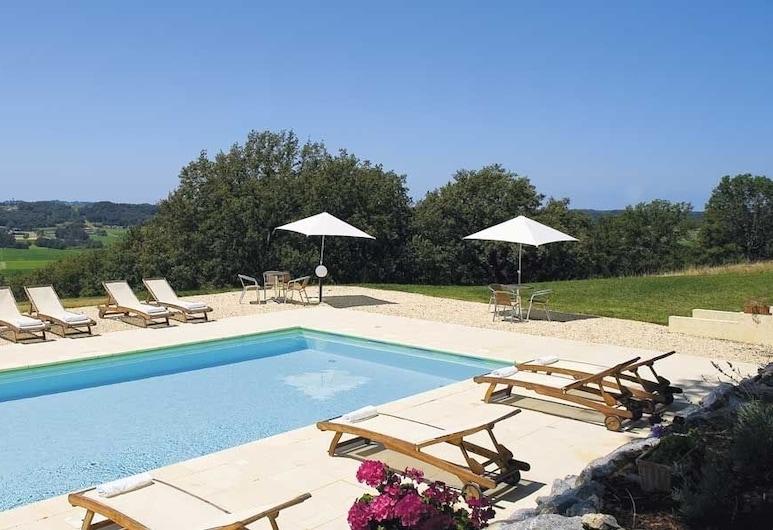 Chateau de Projan, Projan, Εξωτερική πισίνα