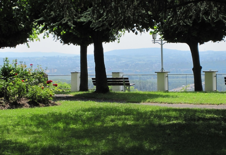 Berghotel Rheinblick, Bendorf, Jardín