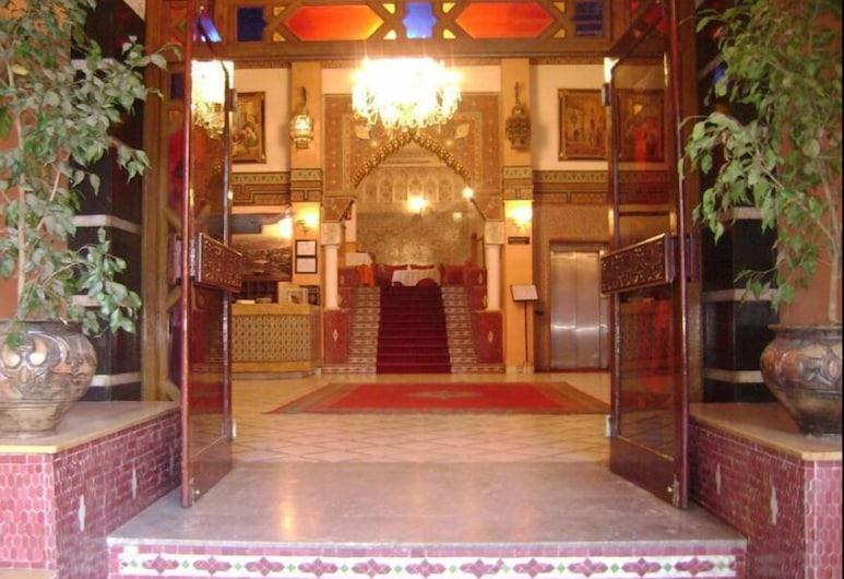 Hôtel Nouzha, Fes, Entrada do hotel
