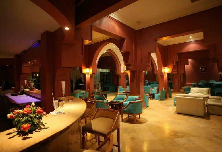 Hotel Karam Palace, Uarzazat, Zona con asientos del vestíbulo