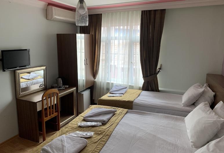 Buhara Hotel, Istanbul, Dobbelt- eller tomannsrom – standard, 1 soverom, Gjesterom