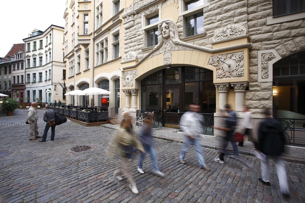 Neiburgs Hotel, Riga, Hotellinngang